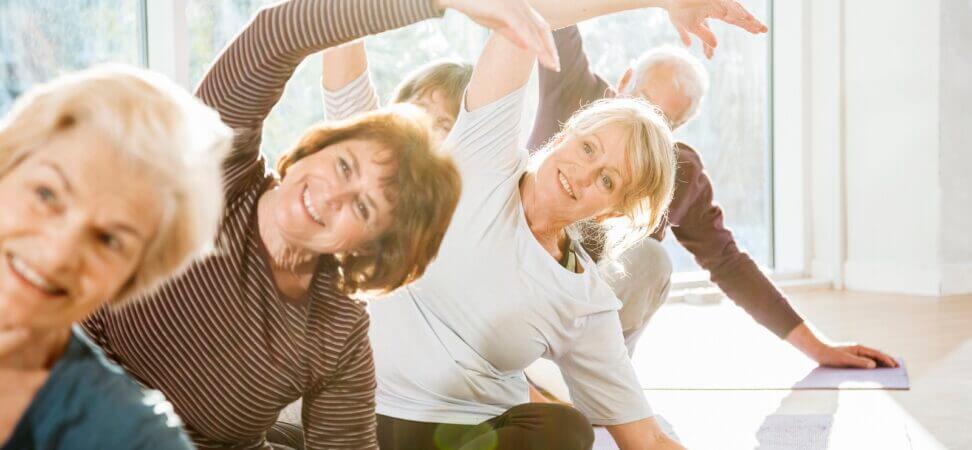 Aktywność ruchowa seniorów